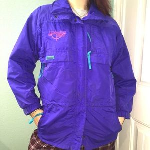 Vintage Columbia purple Windbreaker ski jacket